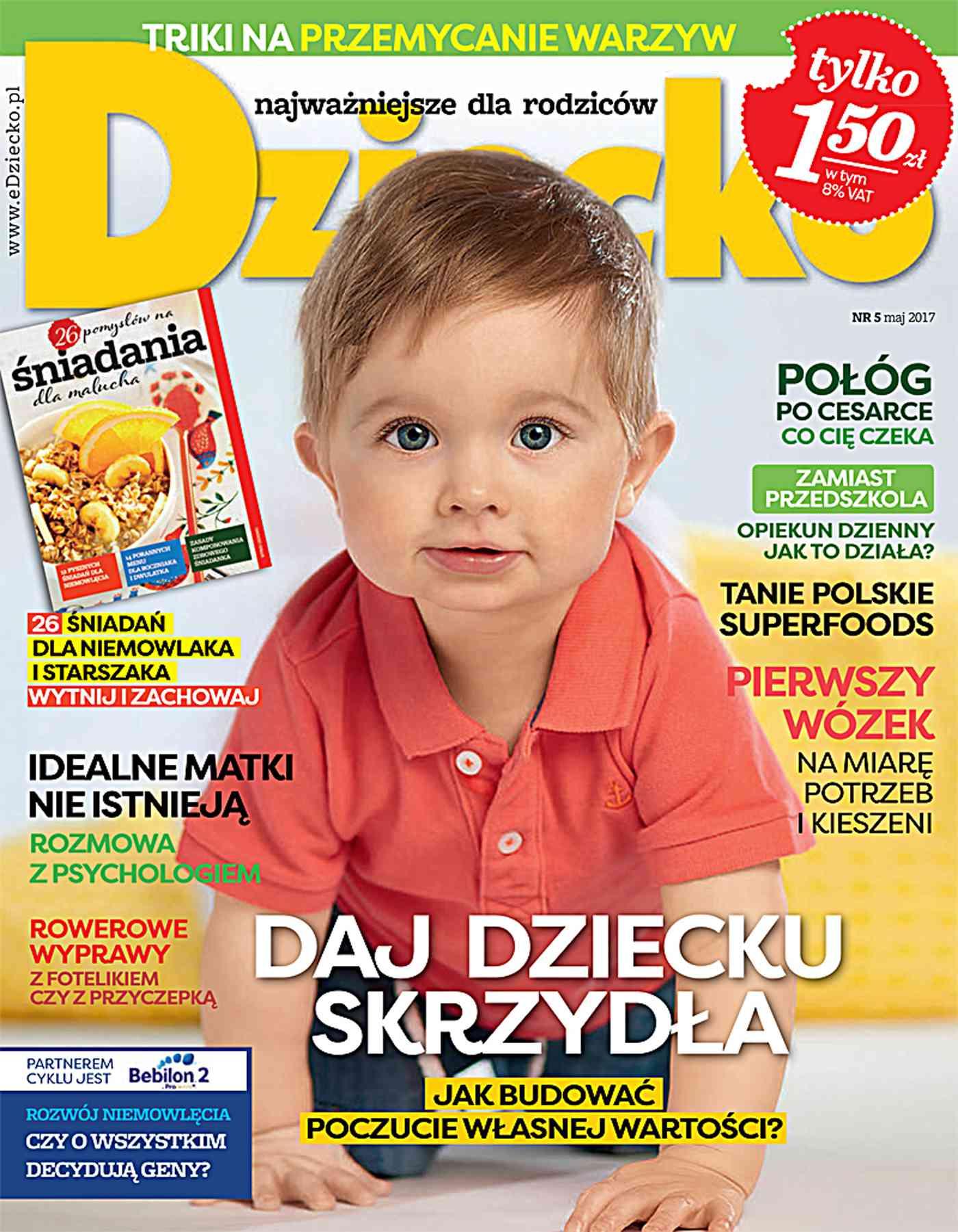 Dziecko 5/2017 - Ebook (Książka PDF) do pobrania w formacie PDF