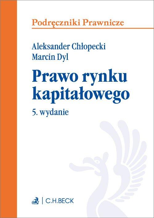 Prawo rynku kapitałowego. Wydanie 5 - Ebook (Książka EPUB) do pobrania w formacie EPUB