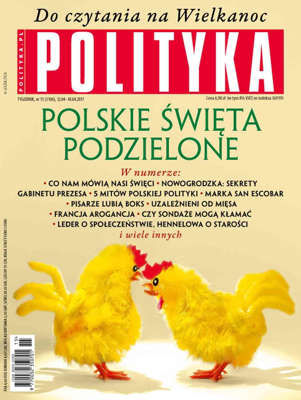 Polityka nr 15/2017 - Ebook (Książka PDF) do pobrania w formacie PDF