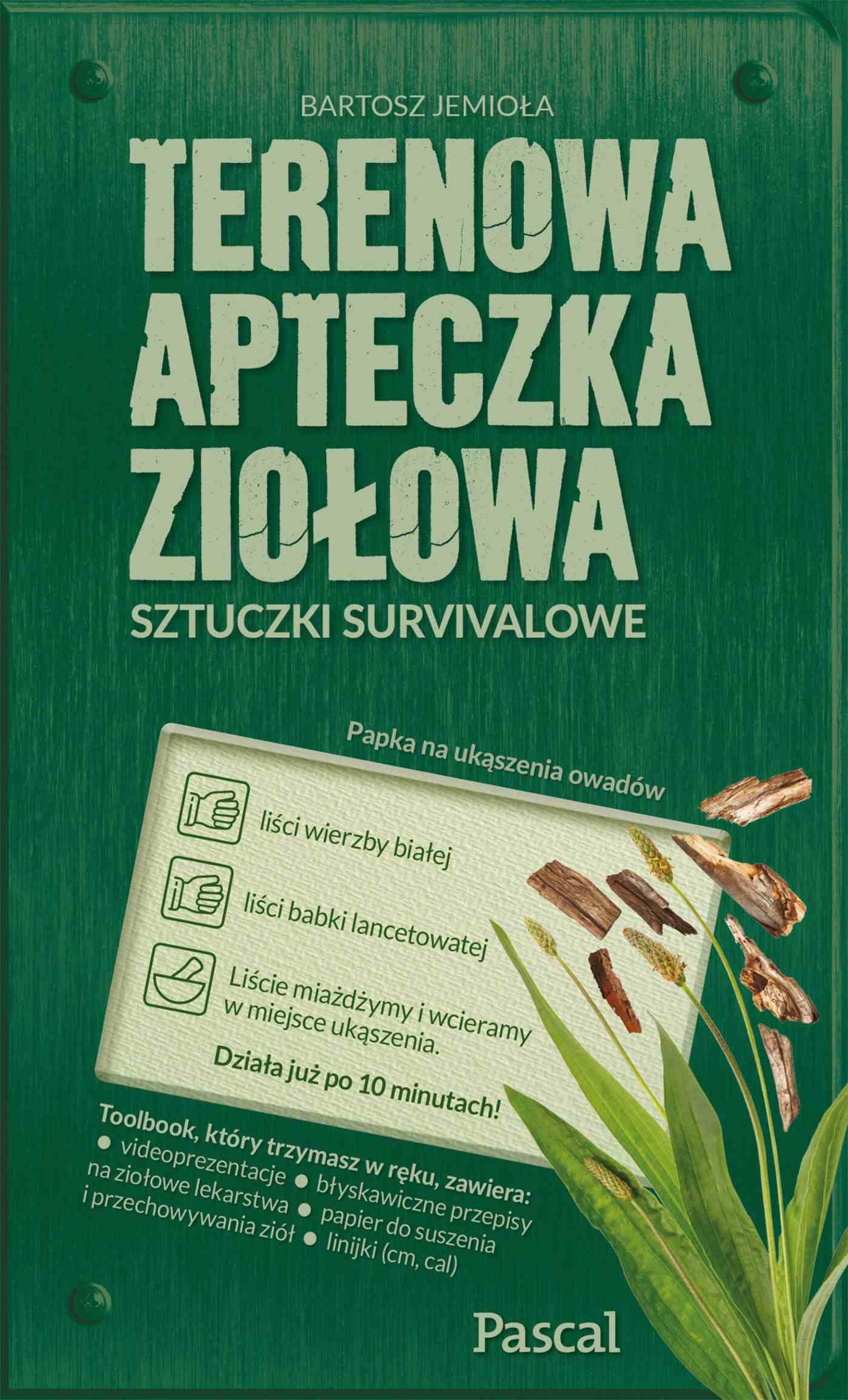 Terenowa apteczka ziołowa - Ebook (Książka na Kindle) do pobrania w formacie MOBI