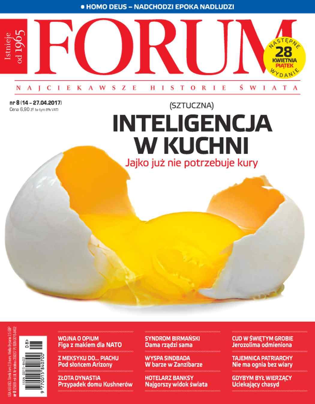 Forum nr 8/2017 - Ebook (Książka PDF) do pobrania w formacie PDF