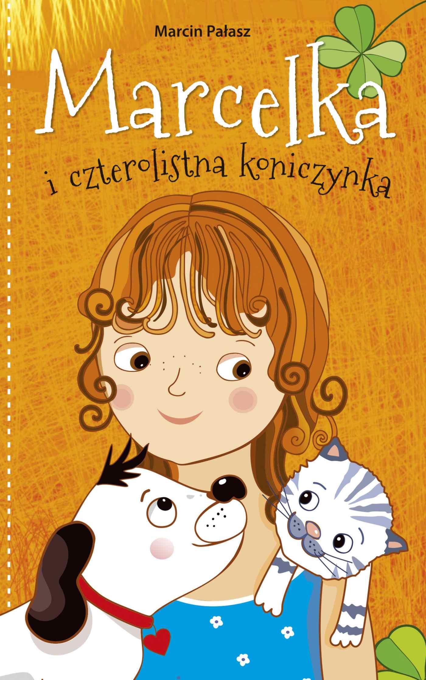 Marcelka i czterolistna koniczynka - Ebook (Książka na Kindle) do pobrania w formacie MOBI