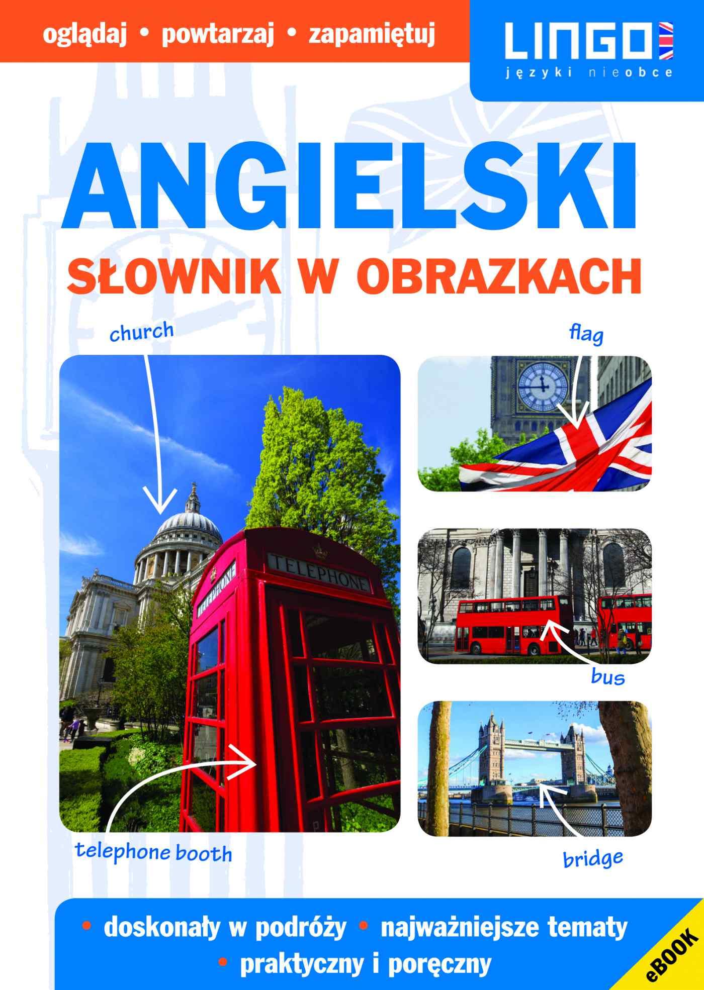 Angielski. Słownik w obrazkach. eBook - Ebook (Książka PDF) do pobrania w formacie PDF