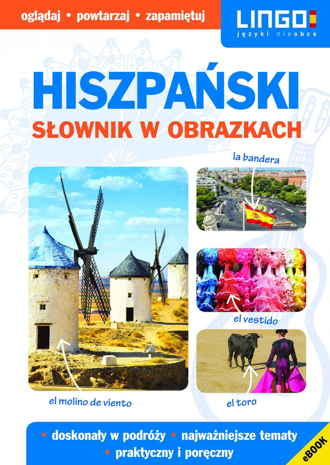Hiszpański. Słownik w obrazkach. eBook - Ebook (Książka PDF) do pobrania w formacie PDF