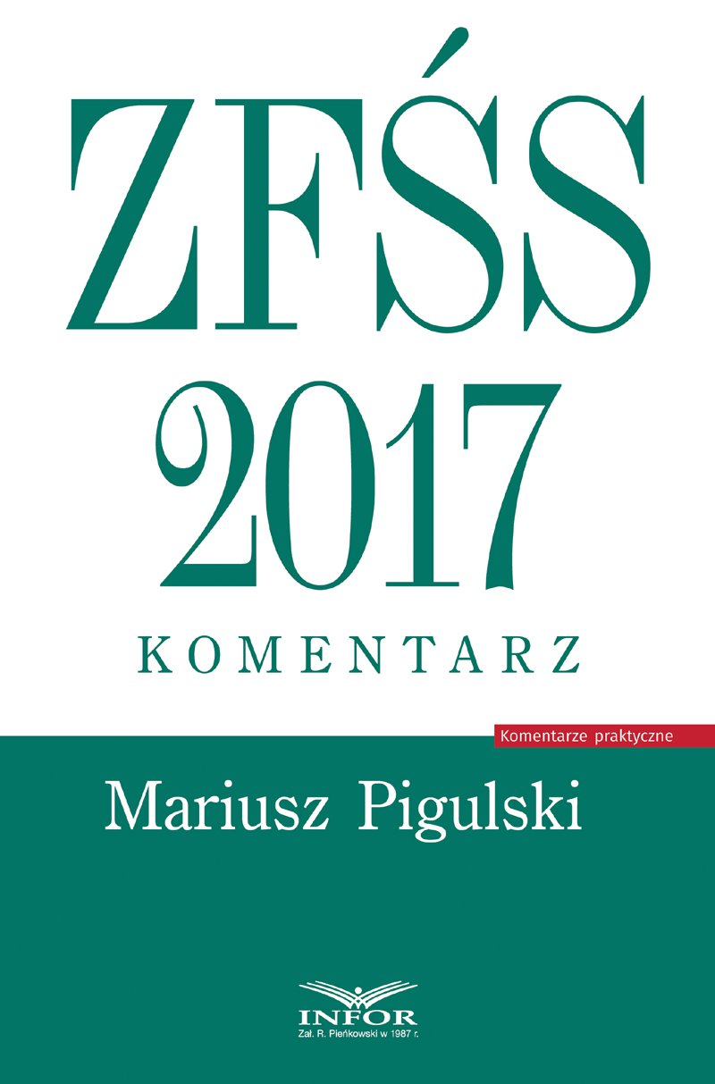 ZFŚS 2017. Komentarz - Ebook (Książka PDF) do pobrania w formacie PDF