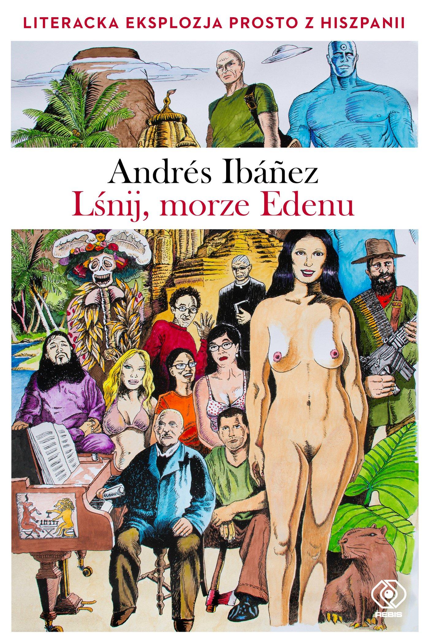 Lśnij, morze Edenu - Ebook (Książka na Kindle) do pobrania w formacie MOBI