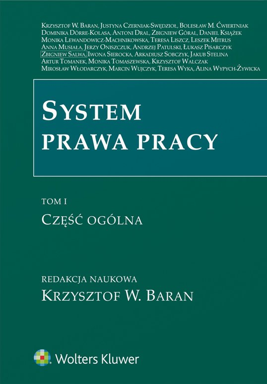 System prawa pracy. TOM I. Część ogólna - Ebook (Książka PDF) do pobrania w formacie PDF