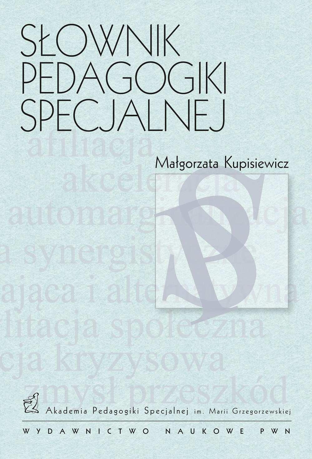 Słownik pedagogiki specjalnej - Ebook (Książka EPUB) do pobrania w formacie EPUB
