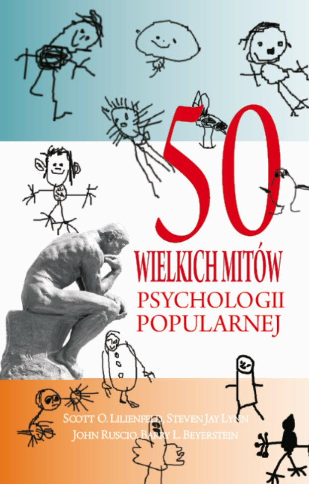 50 wielkich mitów psychologii popularnej - Ebook (Książka EPUB) do pobrania w formacie EPUB