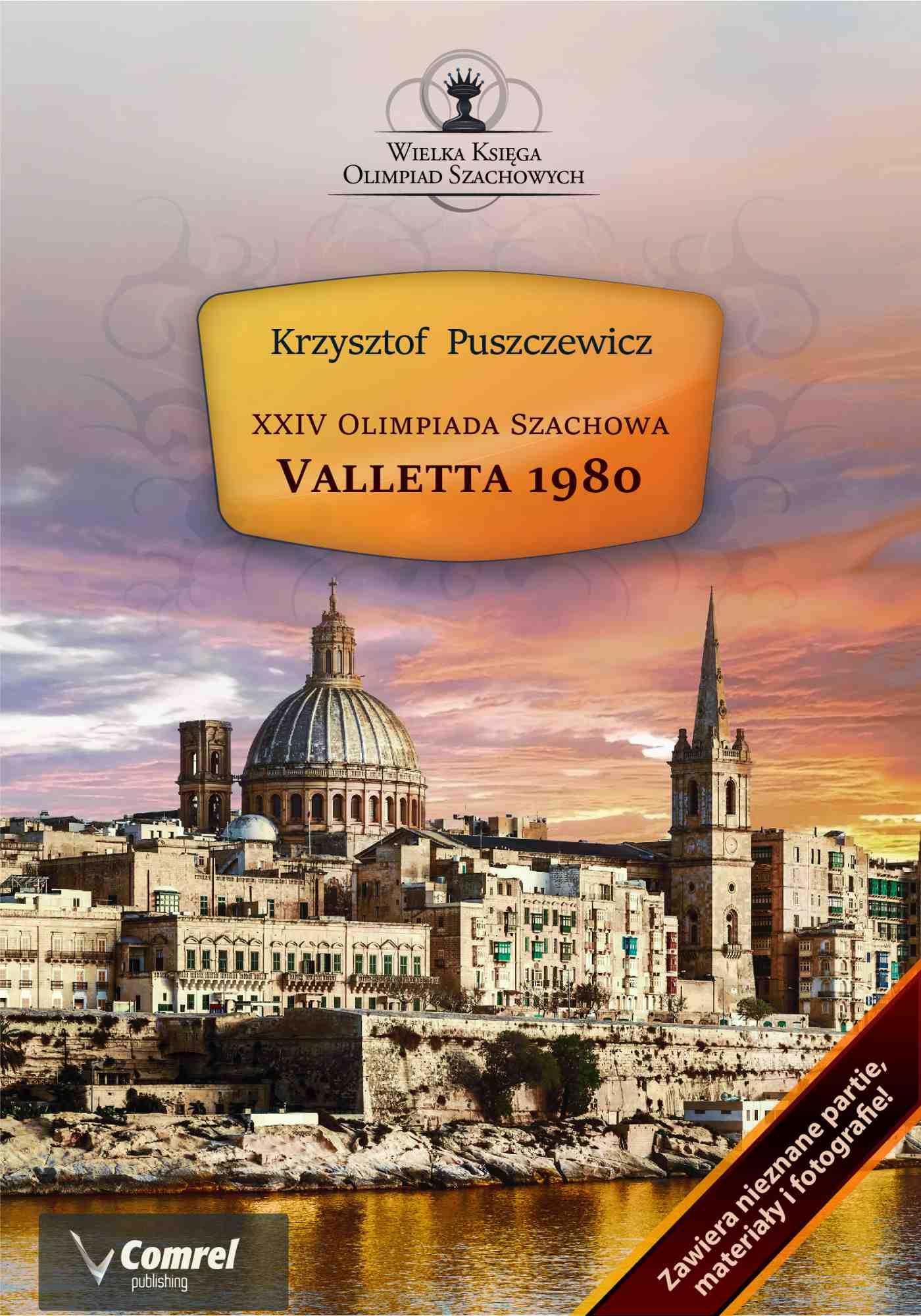 XXIV Olimpiada Szachowa - Valletta 1980 - Ebook (Książka PDF) do pobrania w formacie PDF