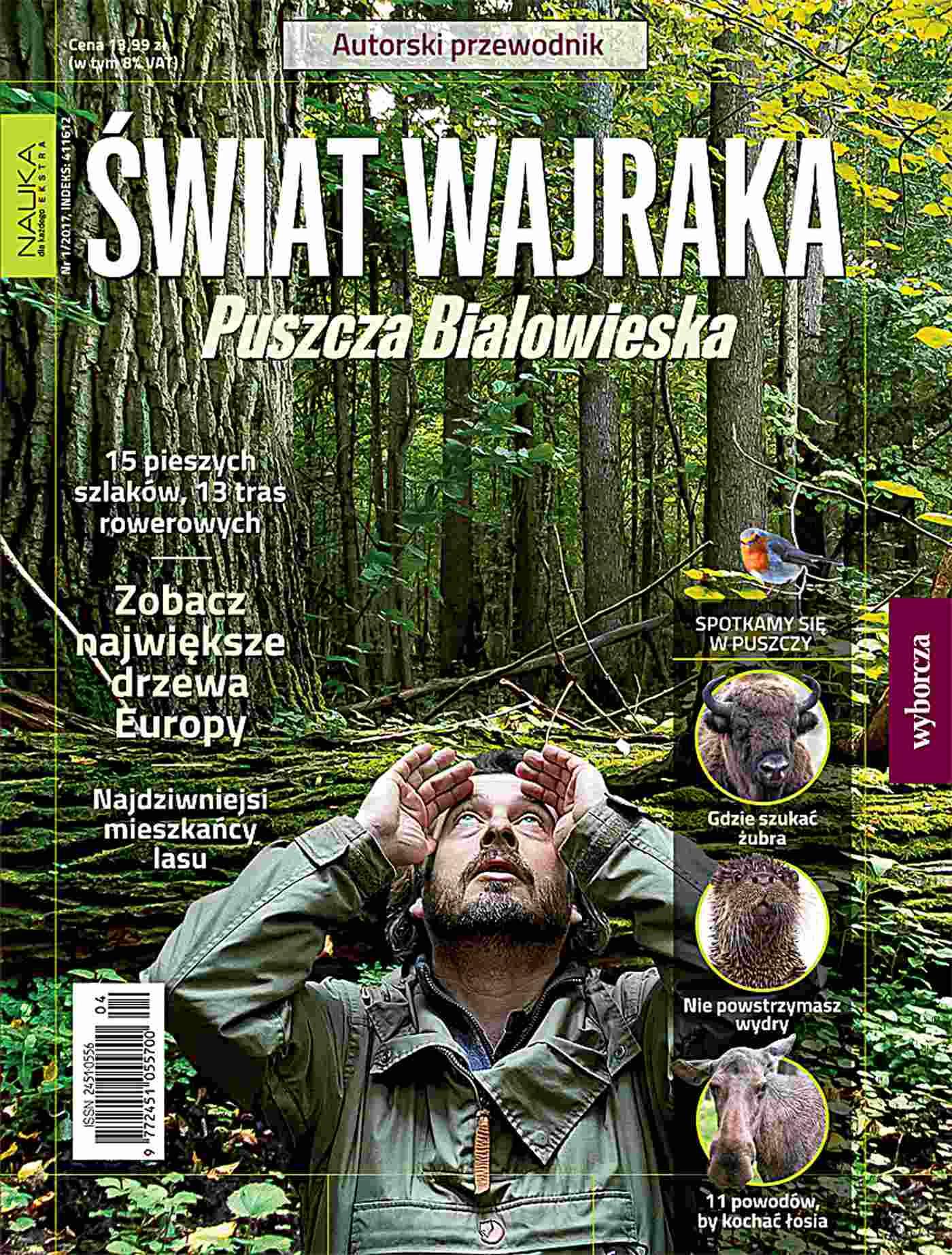 Nauka dla każdego EKSTRA 1/2017 Świat Wajraka. Puszcza Białowieska - Ebook (Książka PDF) do pobrania w formacie PDF