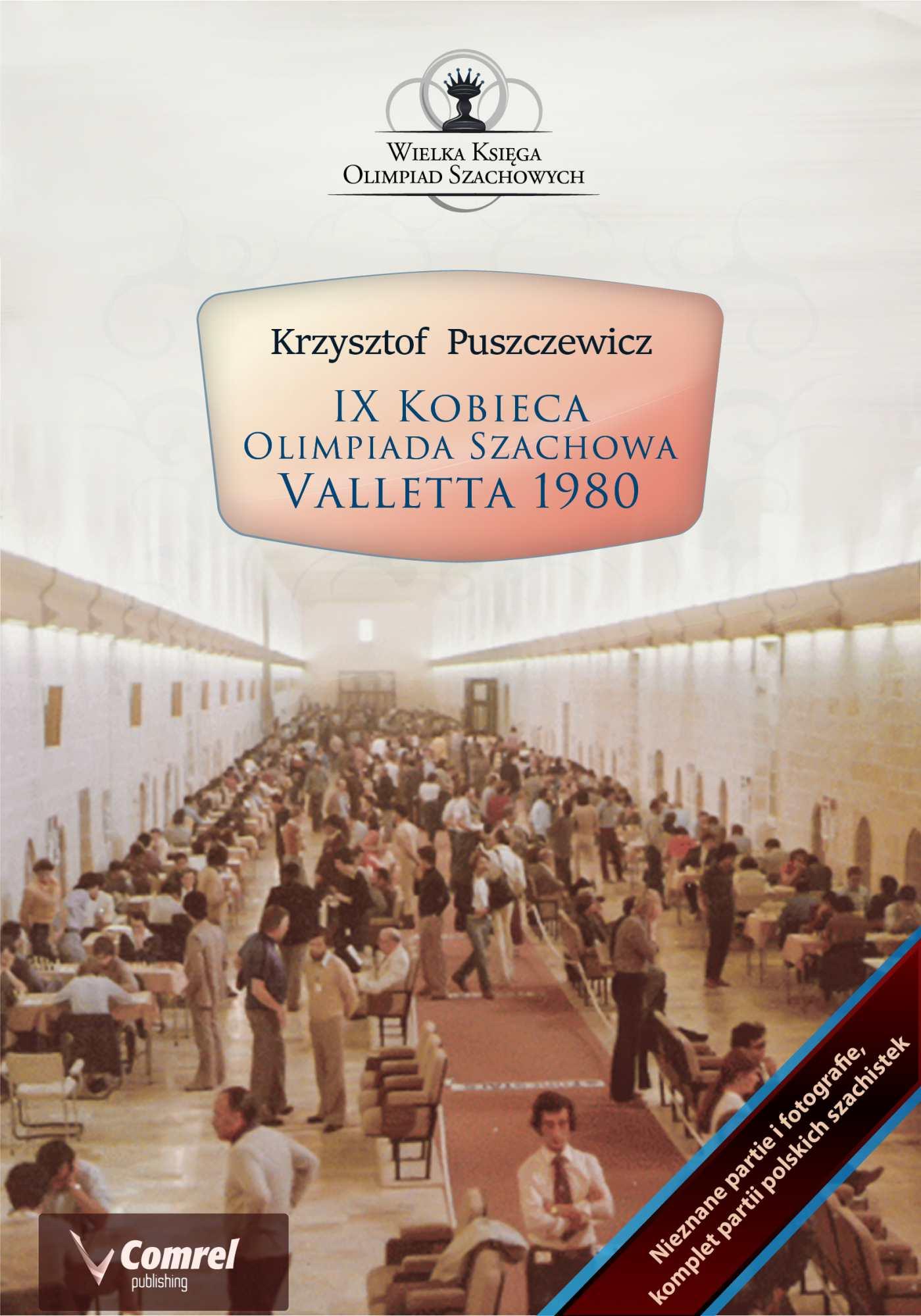 IX Kobieca Olimpiada Szachowa - Valletta 1980 - Ebook (Książka PDF) do pobrania w formacie PDF