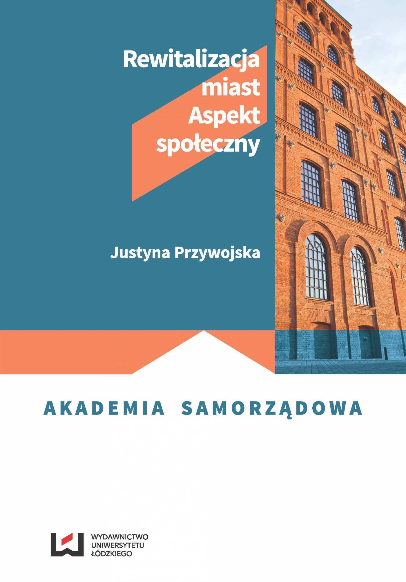 Rewitalizacja miast. Aspekt społeczny - Ebook (Książka PDF) do pobrania w formacie PDF