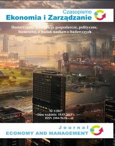 Czasopismo Ekonomia i Zarządzanie nr 2/2017 - Ebook (Książka PDF) do pobrania w formacie PDF
