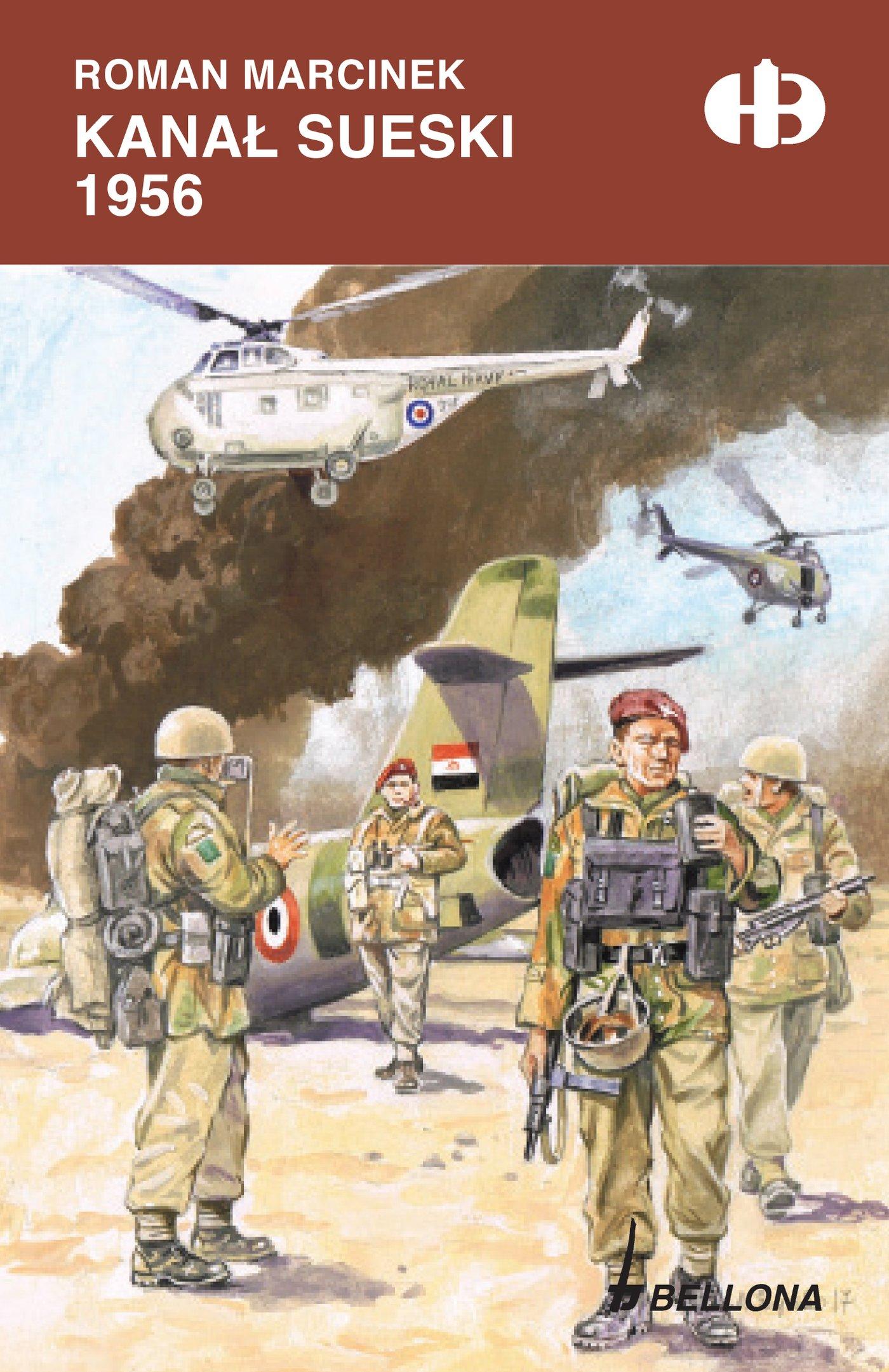 Kanał Sueski 1956 - Ebook (Książka na Kindle) do pobrania w formacie MOBI