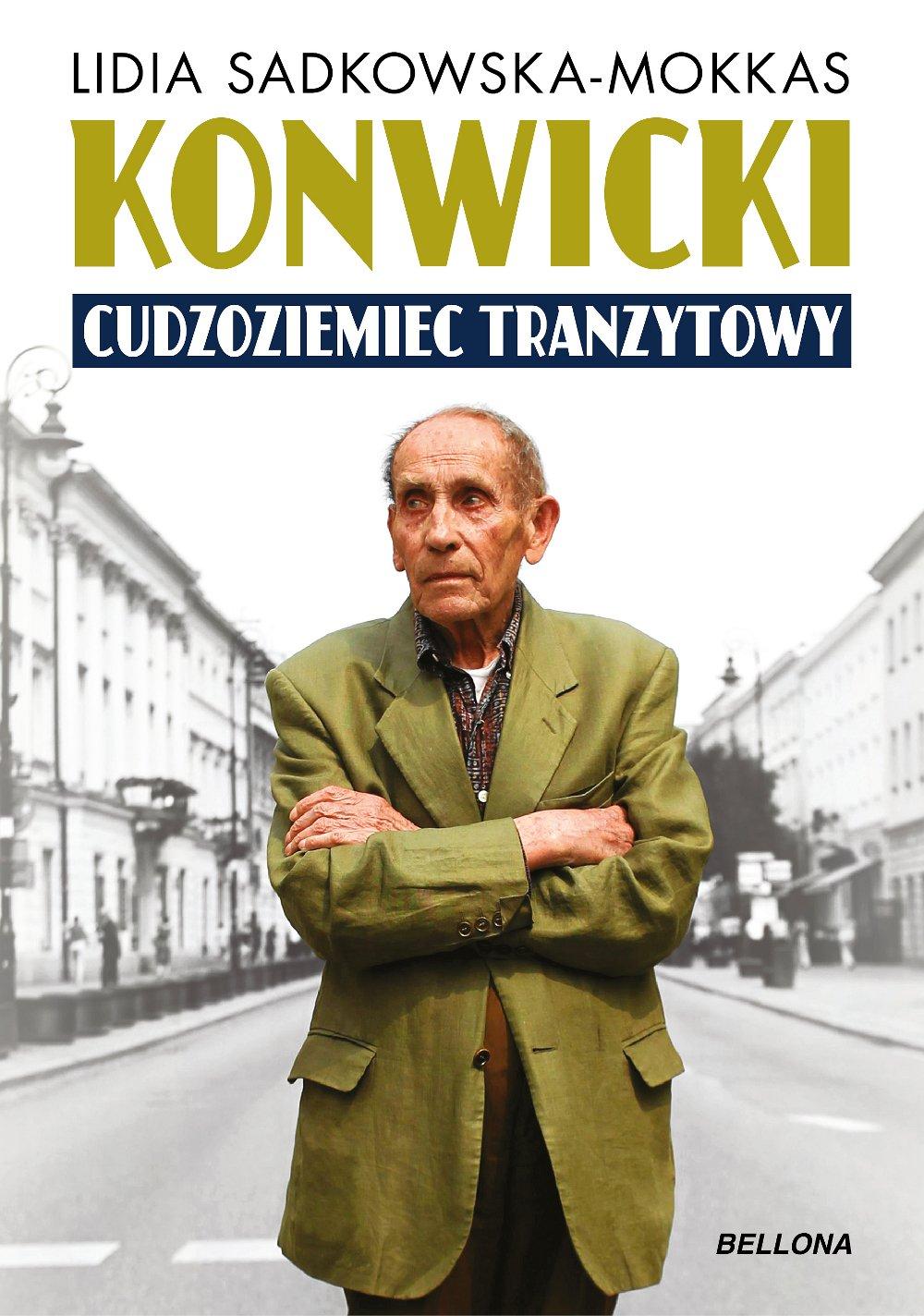 Konwicki - cudzoziemiec tranzytowy - Ebook (Książka na Kindle) do pobrania w formacie MOBI