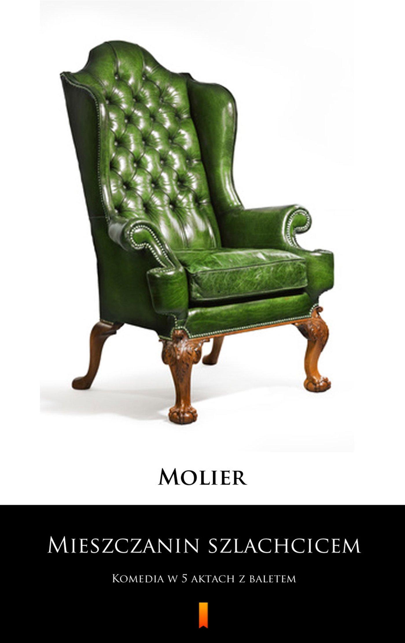 Mieszczanin szlachcicem - Ebook (Książka na Kindle) do pobrania w formacie MOBI