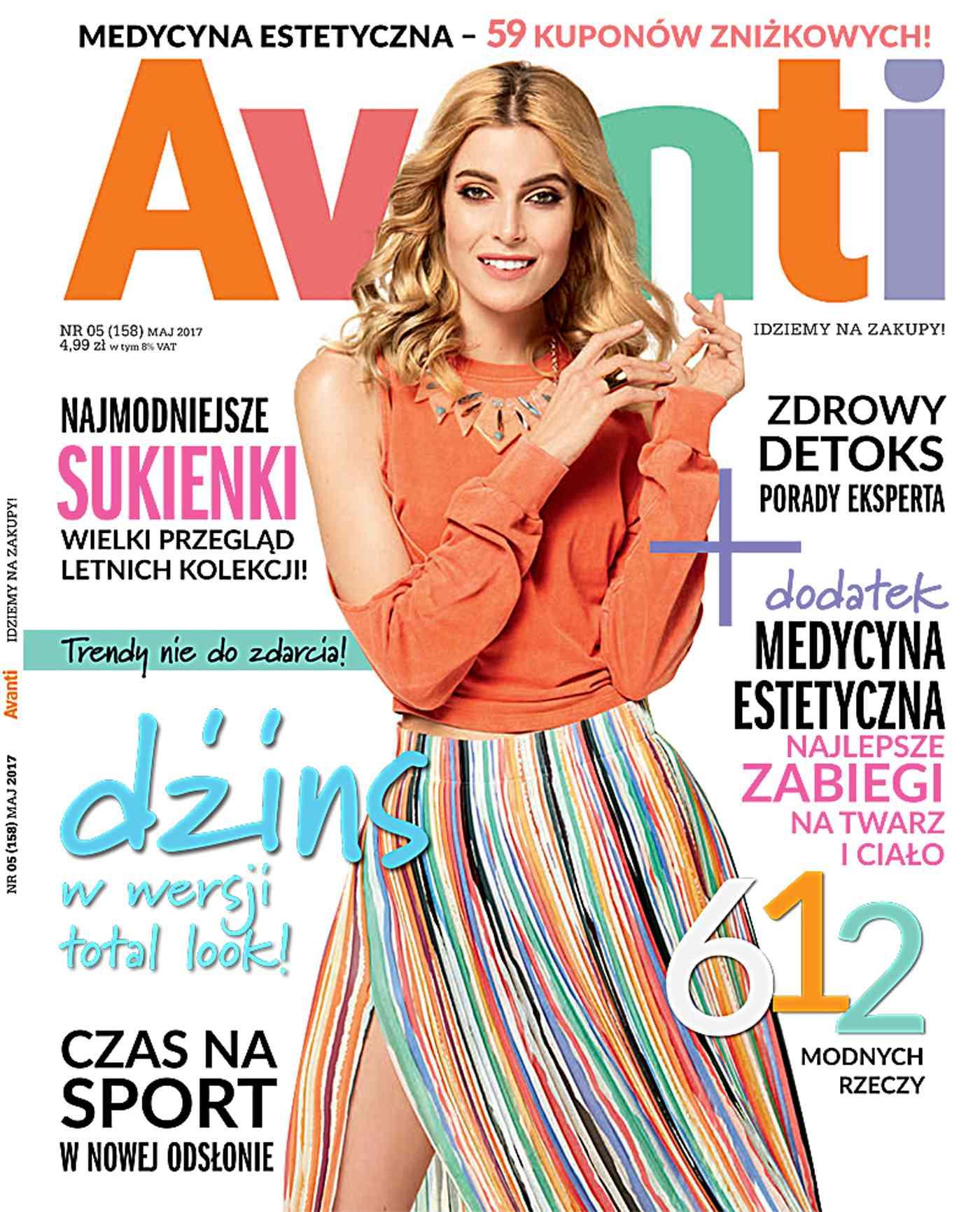 Avanti 5/2017 - Ebook (Książka PDF) do pobrania w formacie PDF
