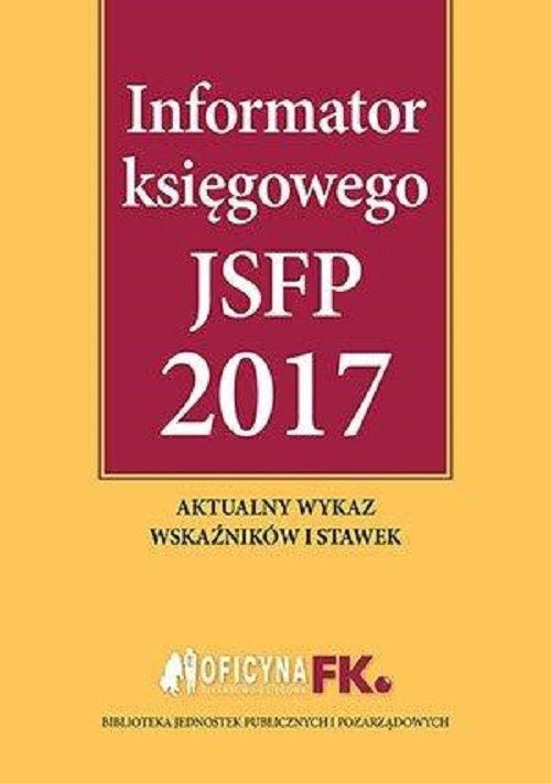 Informator księgowego jsfp 2017 - Ebook (Książka PDF) do pobrania w formacie PDF