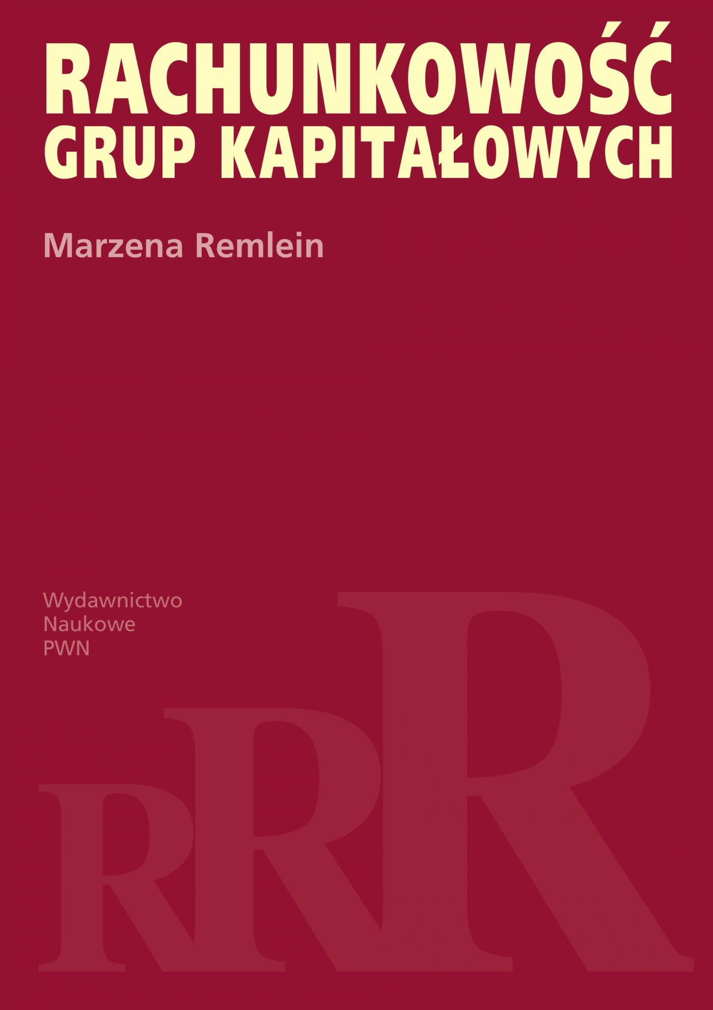 Rachunkowość grup kapitałowych - Ebook (Książka na Kindle) do pobrania w formacie MOBI