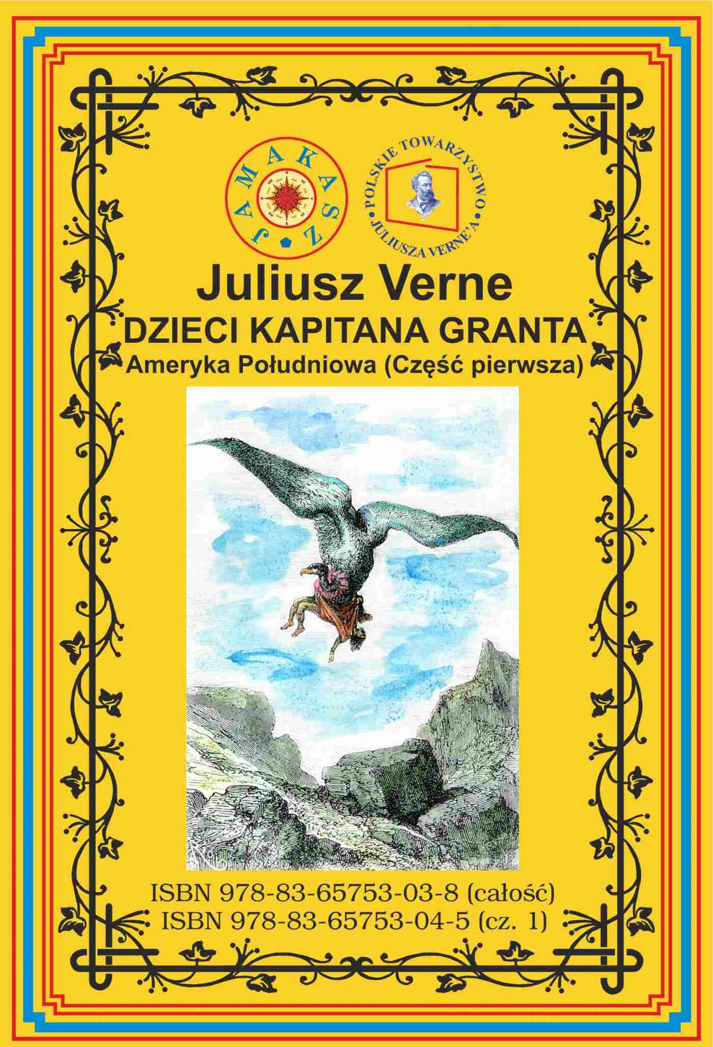Dzieci Kapitana Granta. Część 1. Ameryka Południowa - Ebook (Książka na Kindle) do pobrania w formacie MOBI
