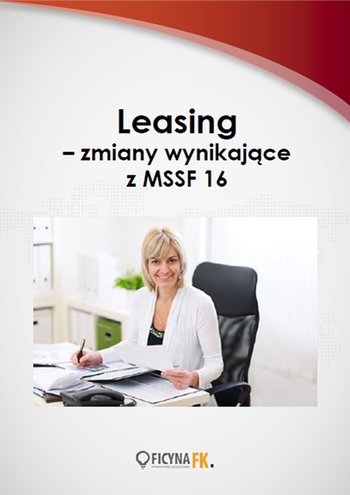 Leasing – zmiany wynikające z MSSF 16 - Ebook (Książka PDF) do pobrania w formacie PDF