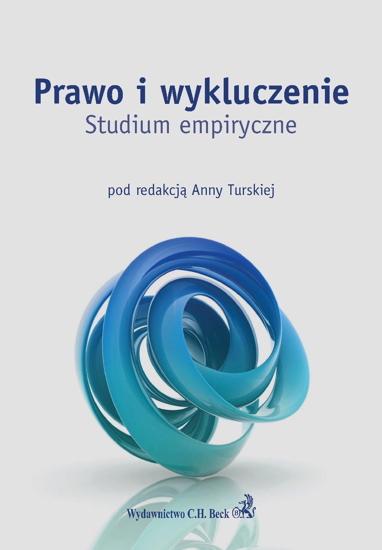Prawo i wykluczenie. Studium empiryczne - Ebook (Książka PDF) do pobrania w formacie PDF