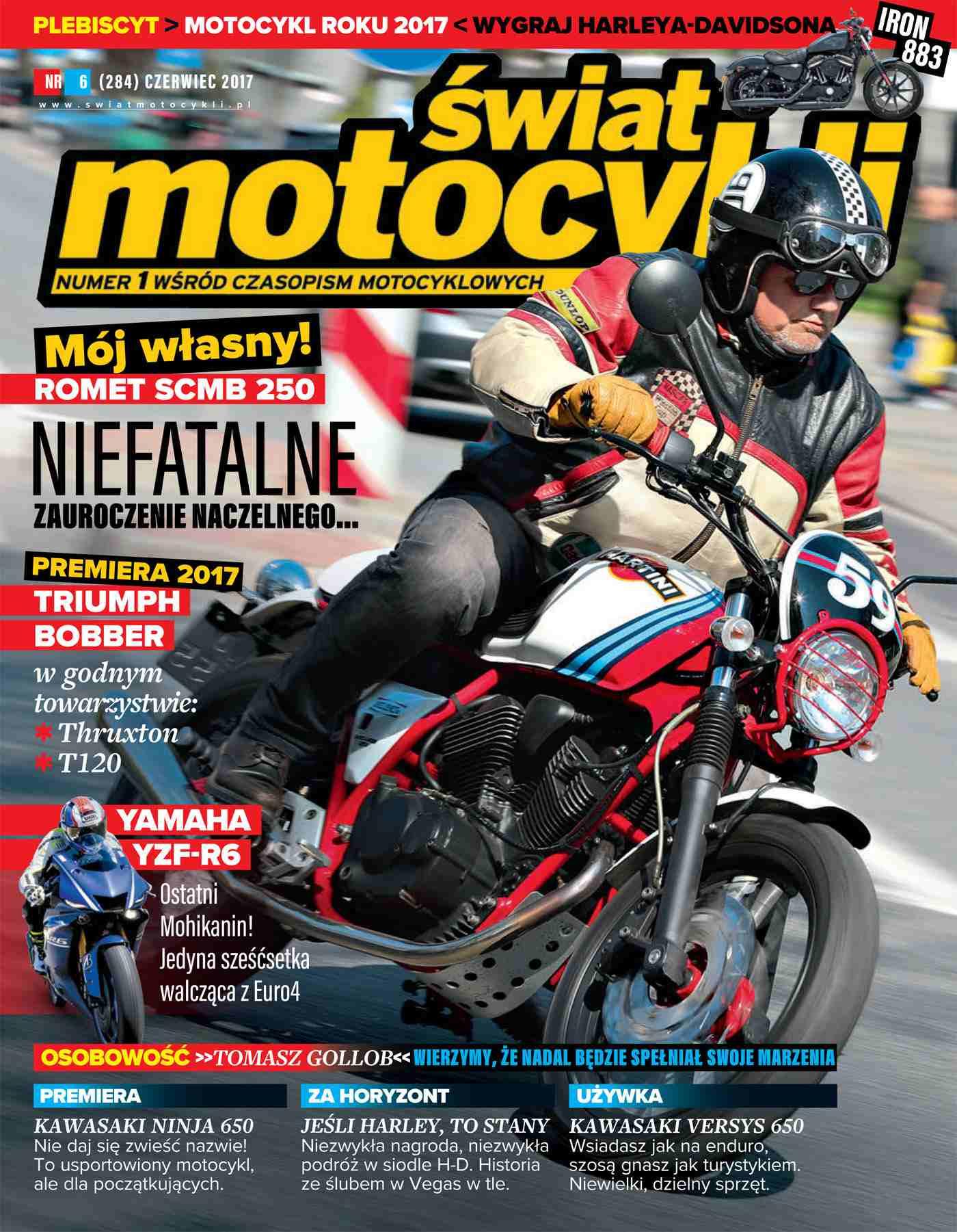 Świat Motocykli 6/2017 - Ebook (Książka PDF) do pobrania w formacie PDF