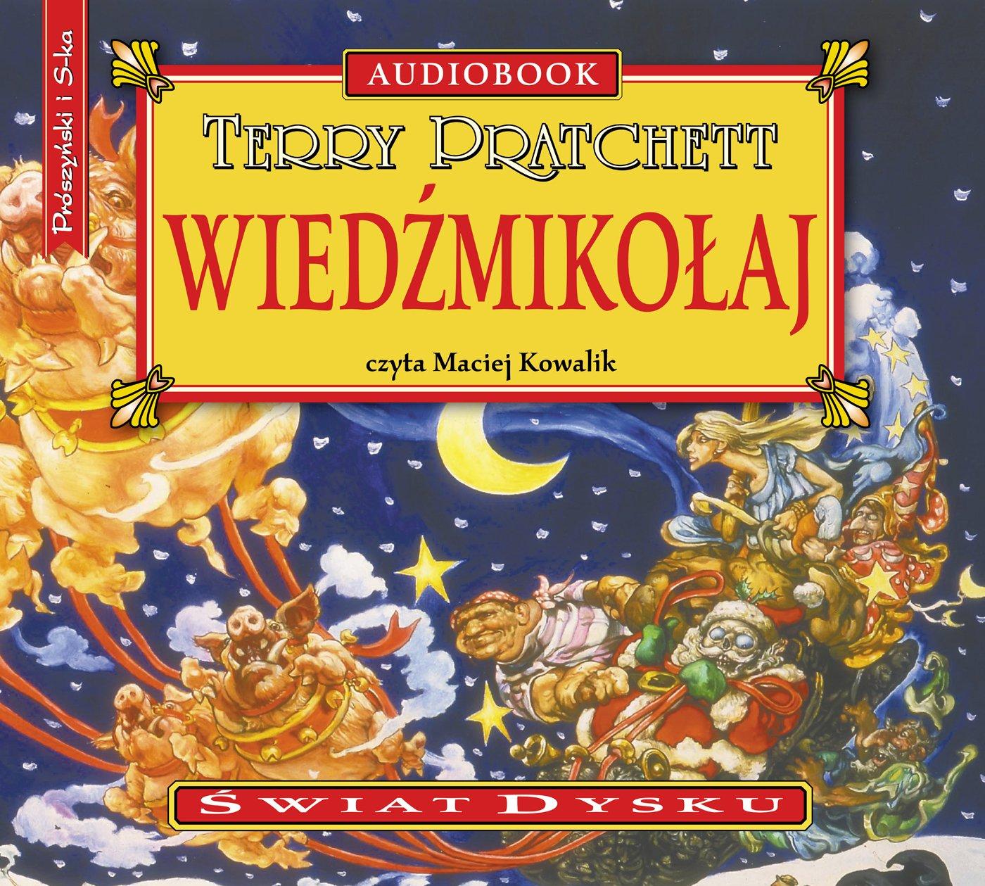 Wiedźmikołaj - Audiobook (Książka audio MP3) do pobrania w całości w archiwum ZIP