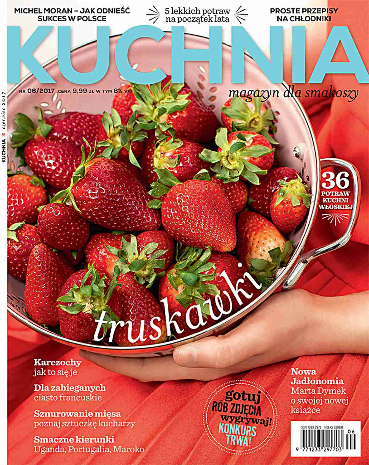 Kuchnia 6/2017 - Ebook (Książka PDF) do pobrania w formacie PDF