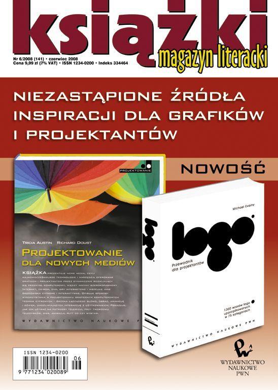 Magazyn Literacki KSIĄŻKI - Nr 6/2008 (141) - Ebook (Książka PDF) do pobrania w formacie PDF