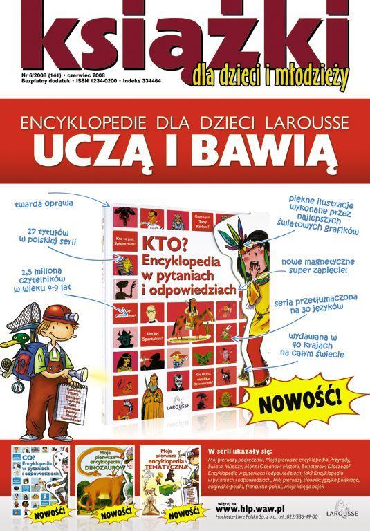 Książki dla dzieci i młodzieży Nr 6/2008 (141) - Ebook (Książka PDF) do pobrania w formacie PDF