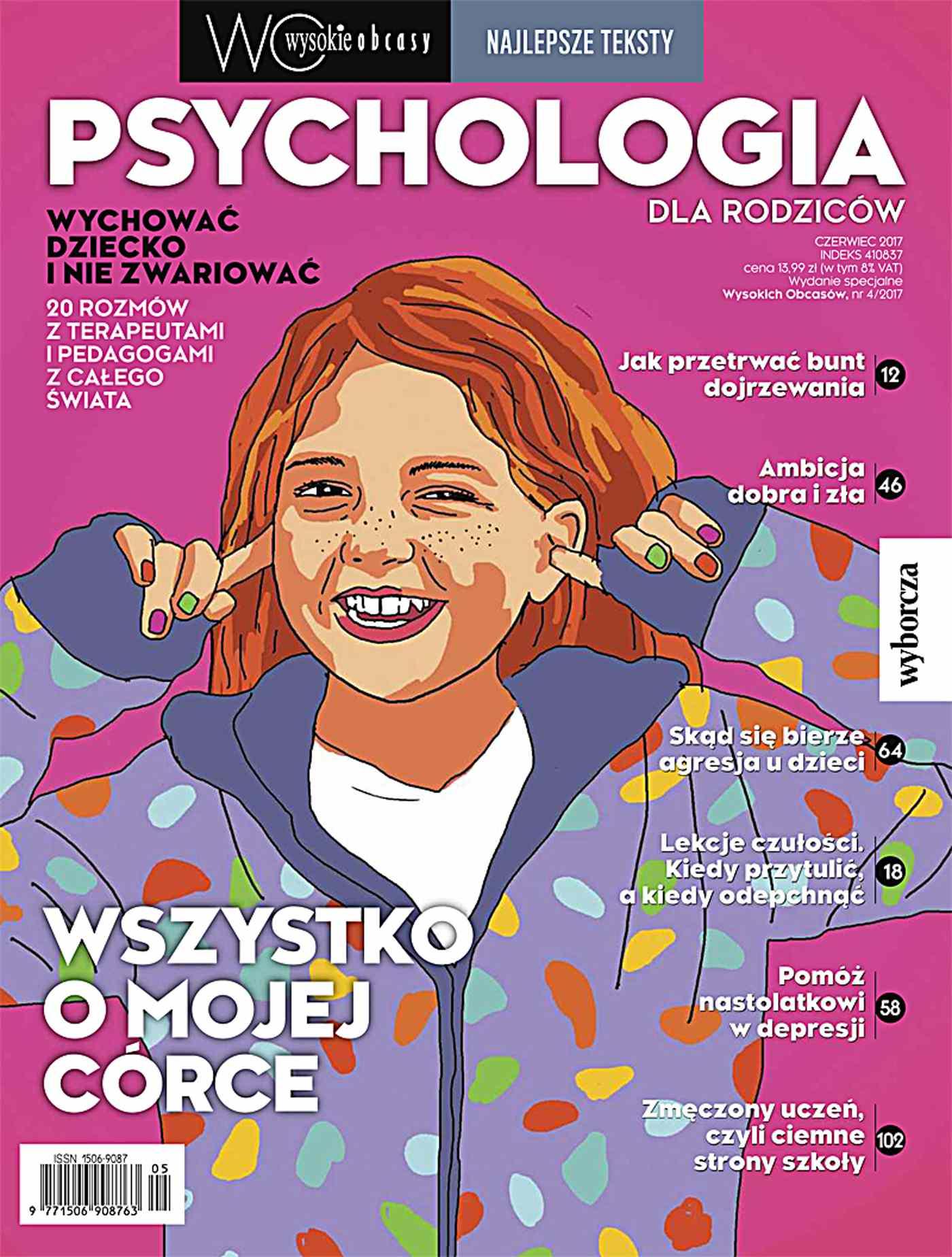 Psychologia dla rodziców. Najlepsze teksty. Wysokie Obcasy. Wydanie Specjalne 4/2017 - Ebook (Książka na Kindle) do pobrania w formacie MOBI