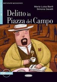 Delitto in Piazza del Campo - Audiobook (Książka audio MP3) do pobrania w całości w archiwum ZIP