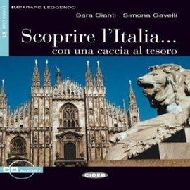 Scoprire l'Italia... con una caccia al tesoro - Audiobook (Książka audio MP3) do pobrania w całości w archiwum ZIP