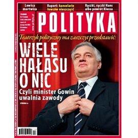 AudioPolityka Nr 11 z 14 marca 2012 roku - Audiobook (Książka audio MP3) do pobrania w całości w archiwum ZIP