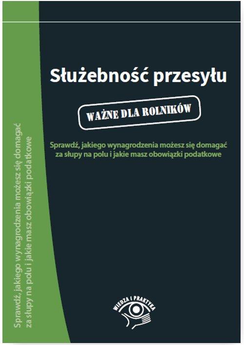 Służebność przesyłu - Ebook (Książka PDF) do pobrania w formacie PDF