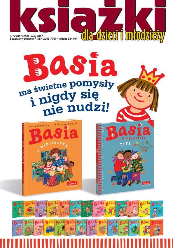 Magazyn Literacki KSIĄŻKI 5/2017 - dodatek Książki dla dzieci i młodzieży - Ebook (Książka PDF) do pobrania w formacie PDF