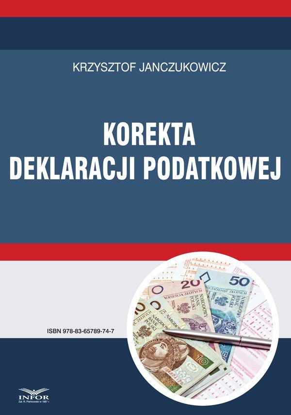 Korekta deklaracji podatkowej - Ebook (Książka PDF) do pobrania w formacie PDF