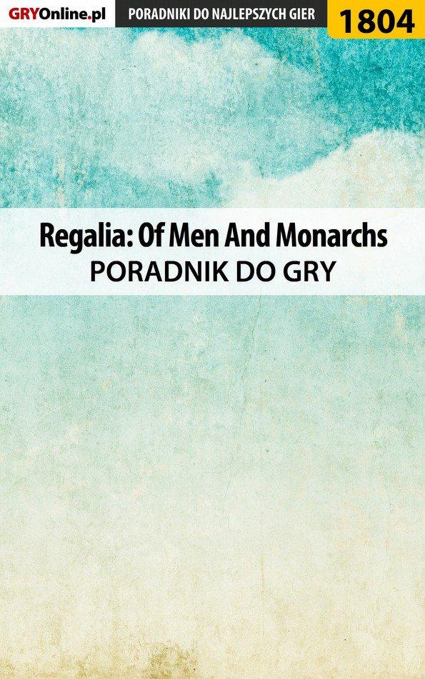 Regalia: Of Men And Monarchs - poradnik do gry - Ebook (Książka PDF) do pobrania w formacie PDF