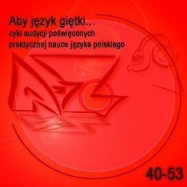 Aby język giętki. cz. 4 - Audiobook (Książka audio MP3) do pobrania w całości w archiwum ZIP