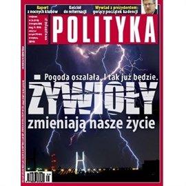 AudioPolityka NR 34 - 18.08.2010 - Audiobook (Książka audio MP3) do pobrania w całości w archiwum ZIP