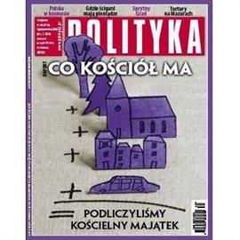 AudioPolityka NR 40 - 29.09.2010 - Audiobook (Książka audio MP3) do pobrania w całości w archiwum ZIP
