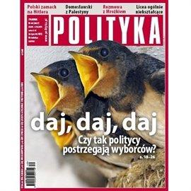 AudioPolityka Nr 40 z 28 września 2011 roku - Audiobook (Książka audio MP3) do pobrania w całości w archiwum ZIP
