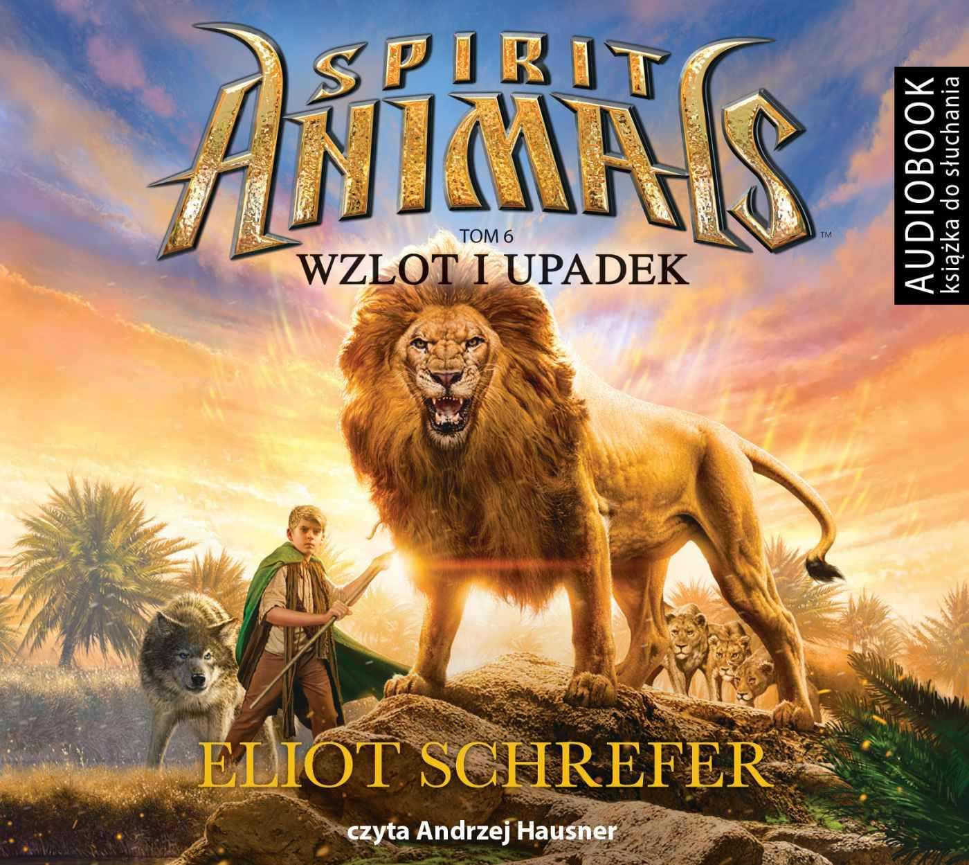 Spirit Animals. Tom 6. Wzlot i upadek - darmowy fragment - Audiobook (Książka audio MP3) do pobrania w całości w archiwum ZIP