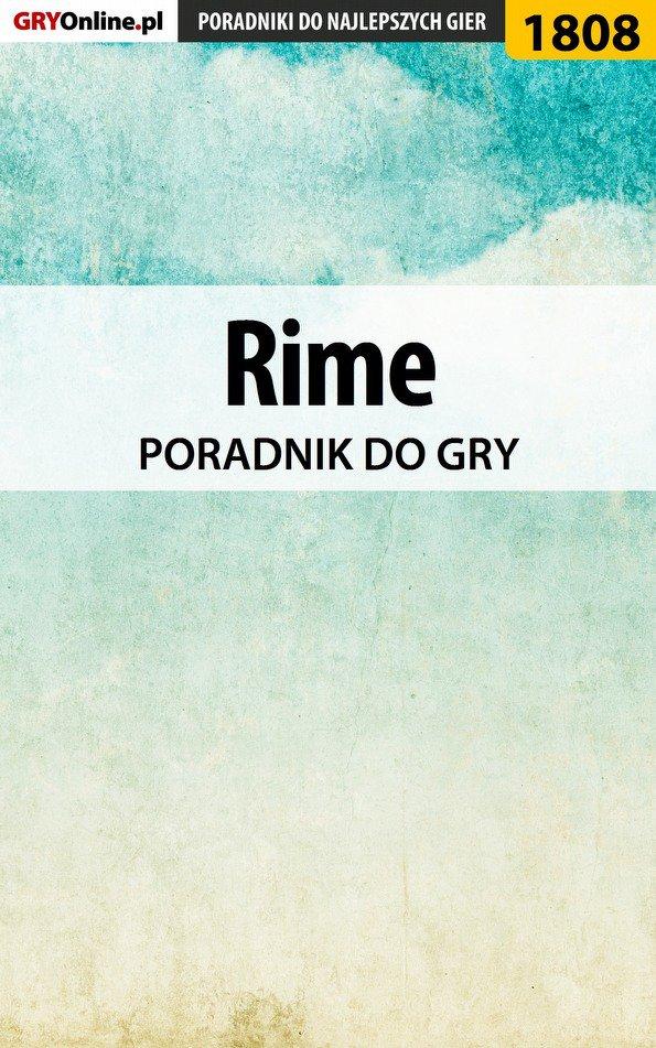 Rime - poradnik do gry - Ebook (Książka EPUB) do pobrania w formacie EPUB
