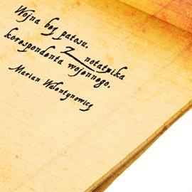 Wojna bez patosu. Z notatnika korespondenta wojennego - Audiobook (Książka audio MP3) do pobrania w całości w archiwum ZIP