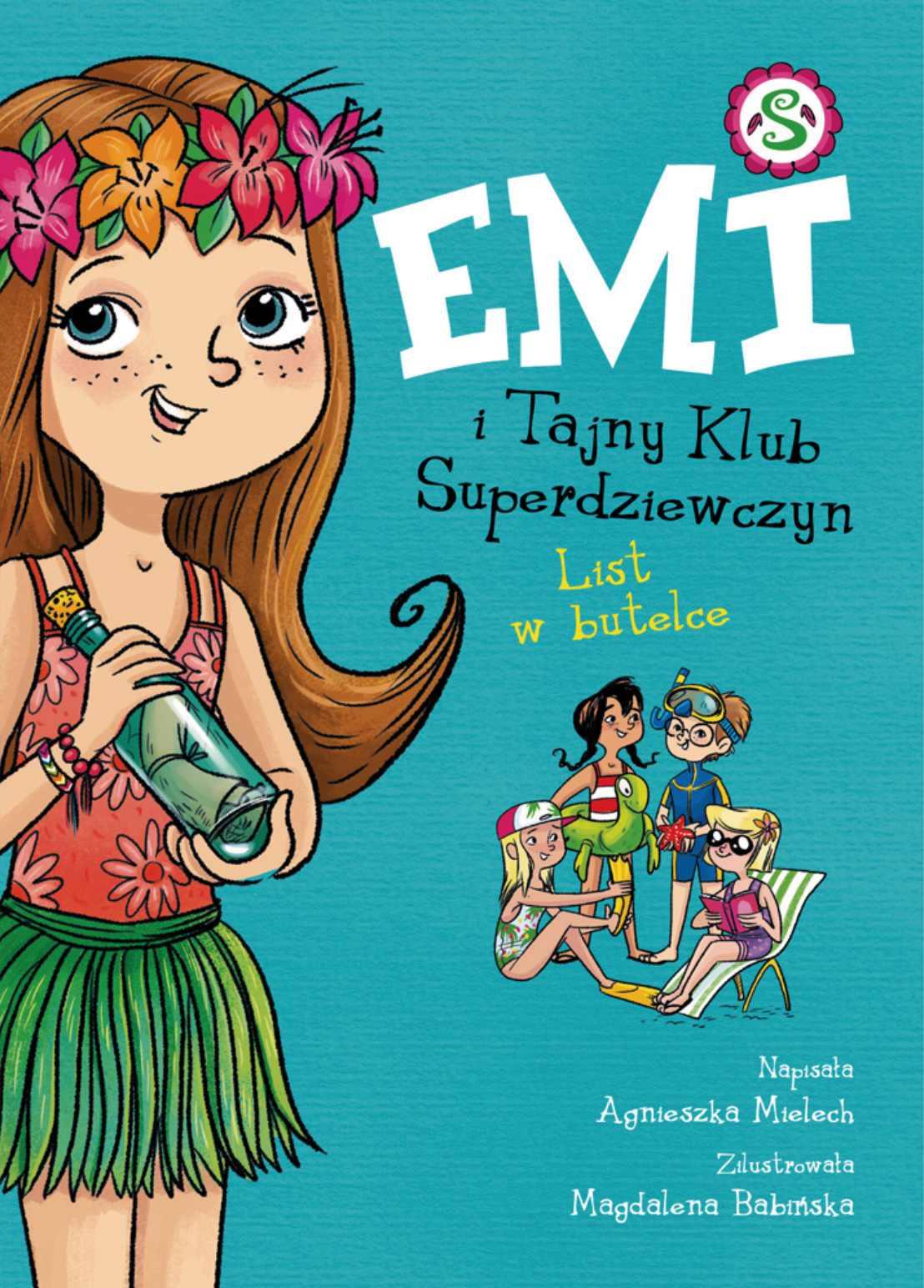 Emi i Tajny Klub Superdziewczyn. Tom. 8. List w butelce - Ebook (Książka na Kindle) do pobrania w formacie MOBI