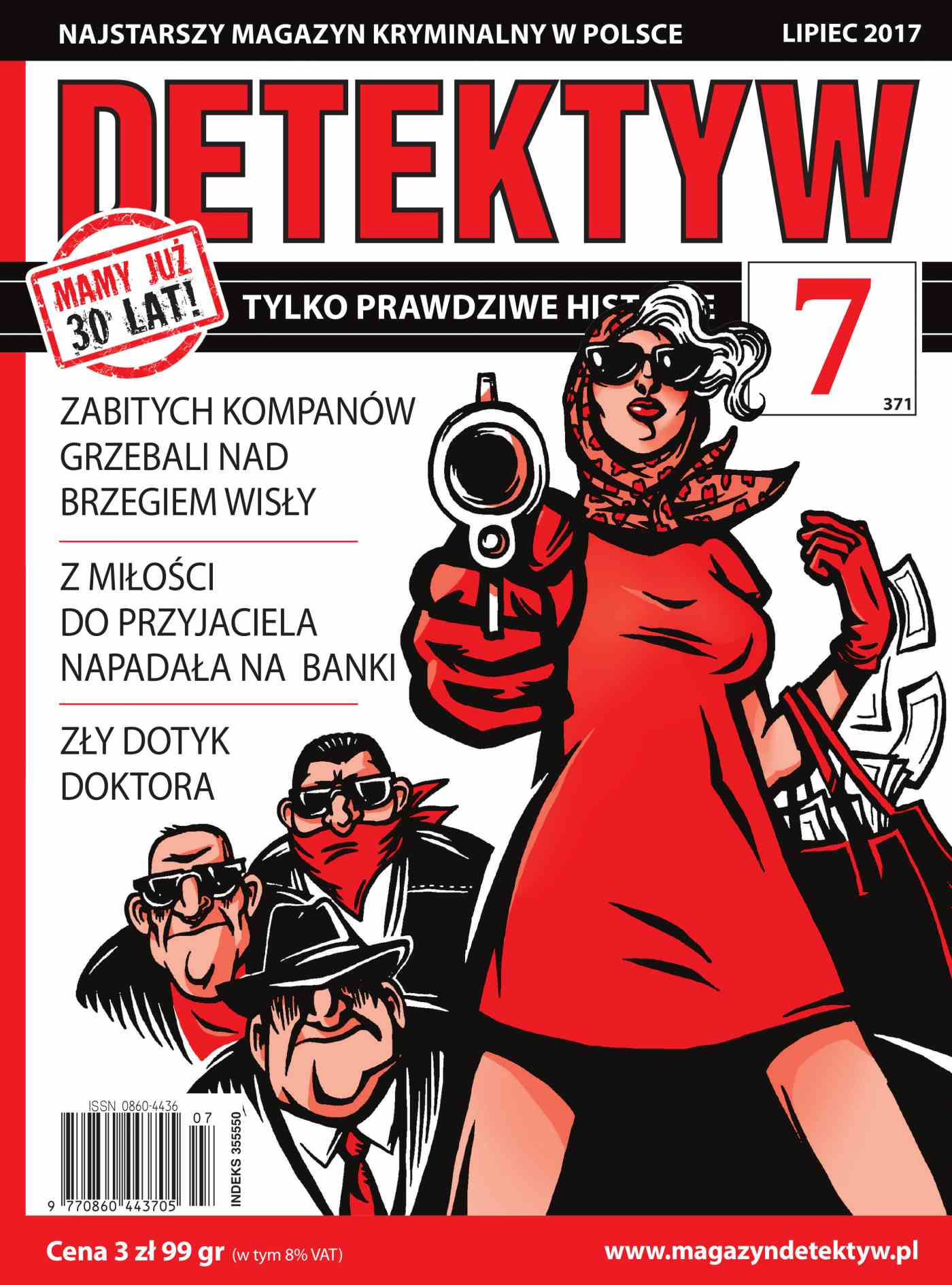 Detektyw 7/2017 - Ebook (Książka na Kindle) do pobrania w formacie MOBI