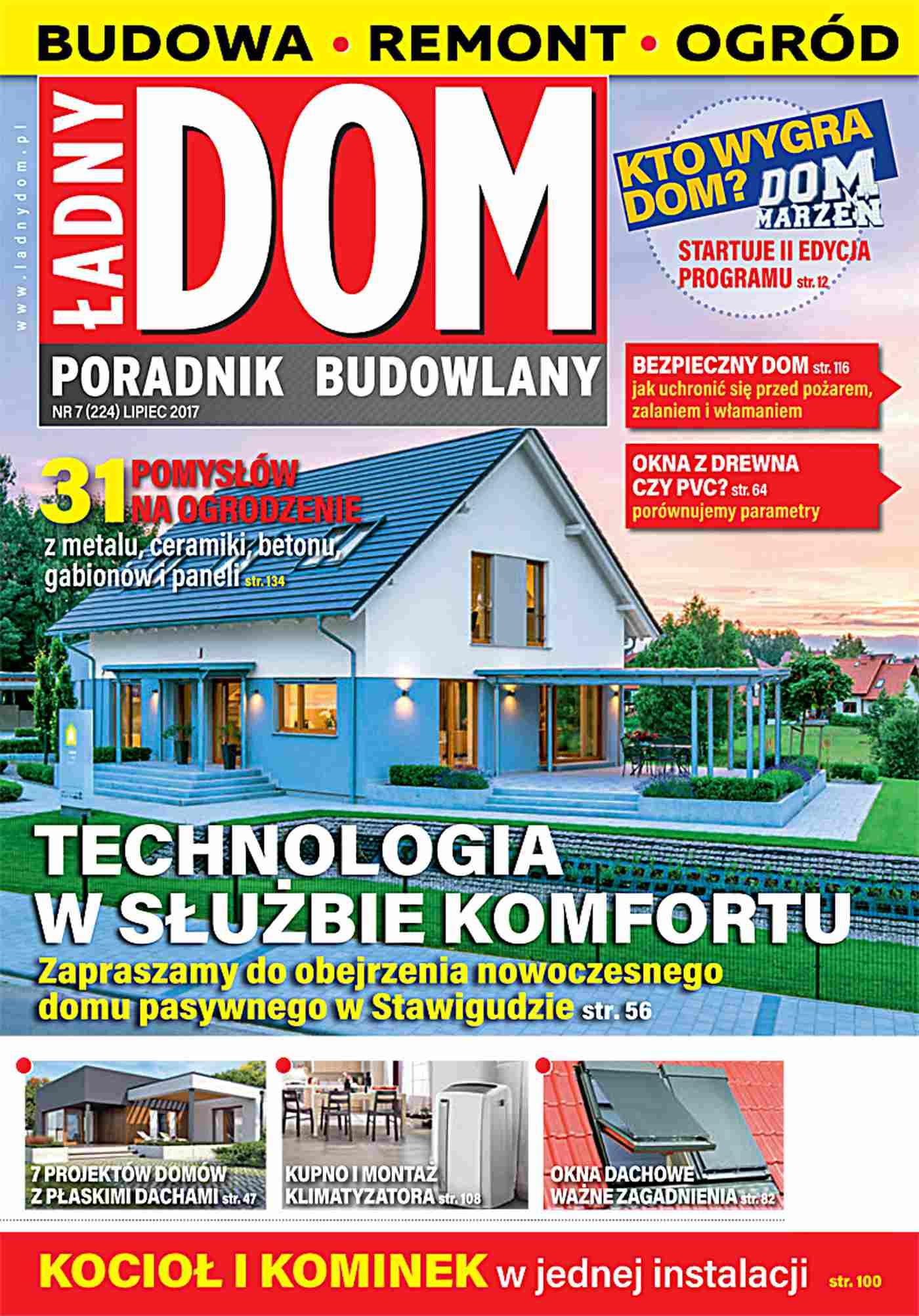 Ładny Dom 7/2017 - Ebook (Książka PDF) do pobrania w formacie PDF
